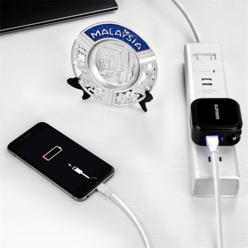 Dual Usb Wall Charger Travel Car Charger