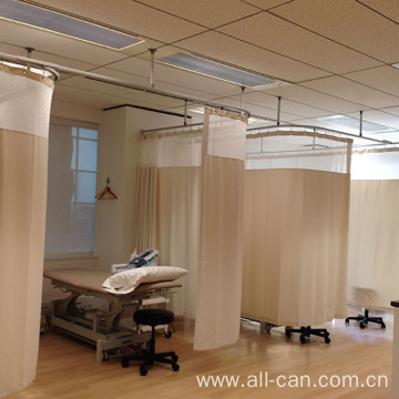 Antibacterial fire curtain cloth