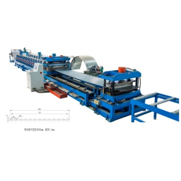 Corrugated Galvanized Curved Iron Machine for Grain Silo