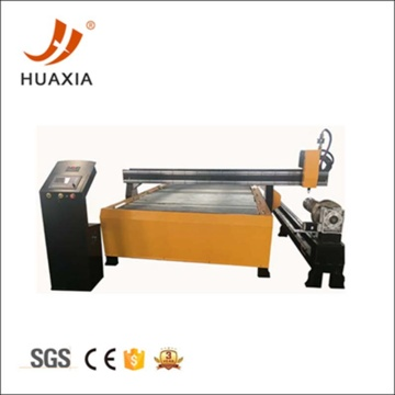 CNC plasma tube cutting machine with drilling function