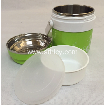 Stainless Steel Environmental Healthy Insulated Lunch Box