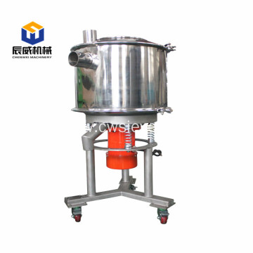 High capacity high frequency sifter for sugar