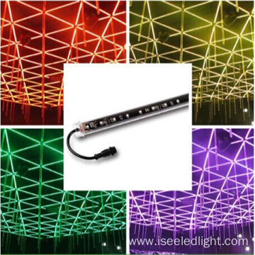Disco DMX LED RGB Pixels 3D Tube