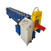 Aluminum Metal Roof Ridge Cap Roll Forming Machine