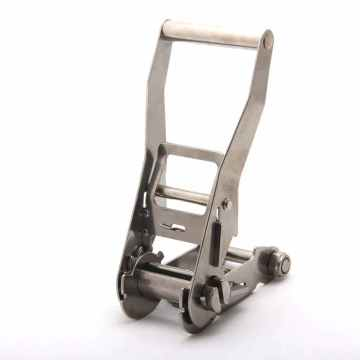 2 Inch Long Handle SS Ratchet Buckle