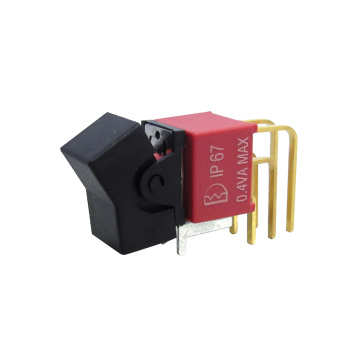 IP67 Waterproof Miniature Custom Rocker Switches