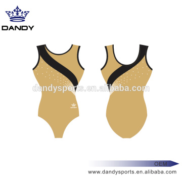 China for Girls Gymnastics Wear scattered rhinestones leotards for girls export to Niue Exporter