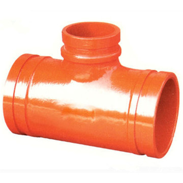 Ductile Iron Grooved Reducing Tee