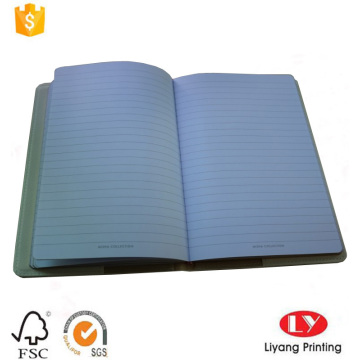 Luxury promotional leather gift notebook printing