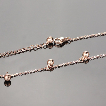 Wholesale ladies ankle bracelets with bells