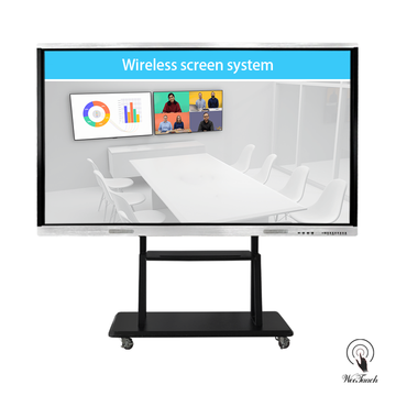 86 Inches All-In-One Multi-touch Board with mobile stand