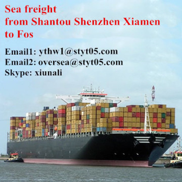 Shantou to Fos sea freight shipping timetable