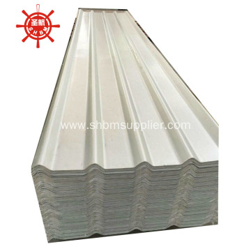 Corrosion-Resistant Aluminium-Foil MgO Corruagted Roof Sheet