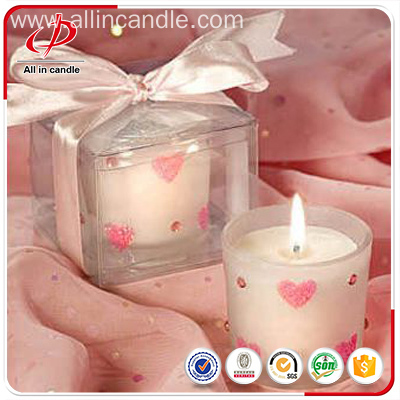 2018 Supermarket hotsale scented glass jar candle