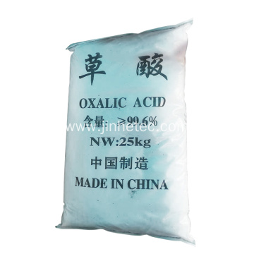 White Crystal Powder 99.6% Oxalic Acid Industrial Grade