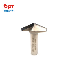 V shape PCD router bit 120 degree