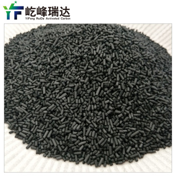 Coal-based solvent recovery column activated carbon