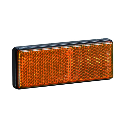 Rectangle ATV Amber Reflectors