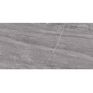 Large natural stone look tiles floor