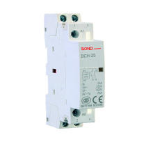 China for Modular AC Contactor,Modular Contactor,Auto Modular AC Contactor Manufacturers and Suppliers in China BCH-25 2P 25A Modular AC Contactor supply to Iraq Exporter