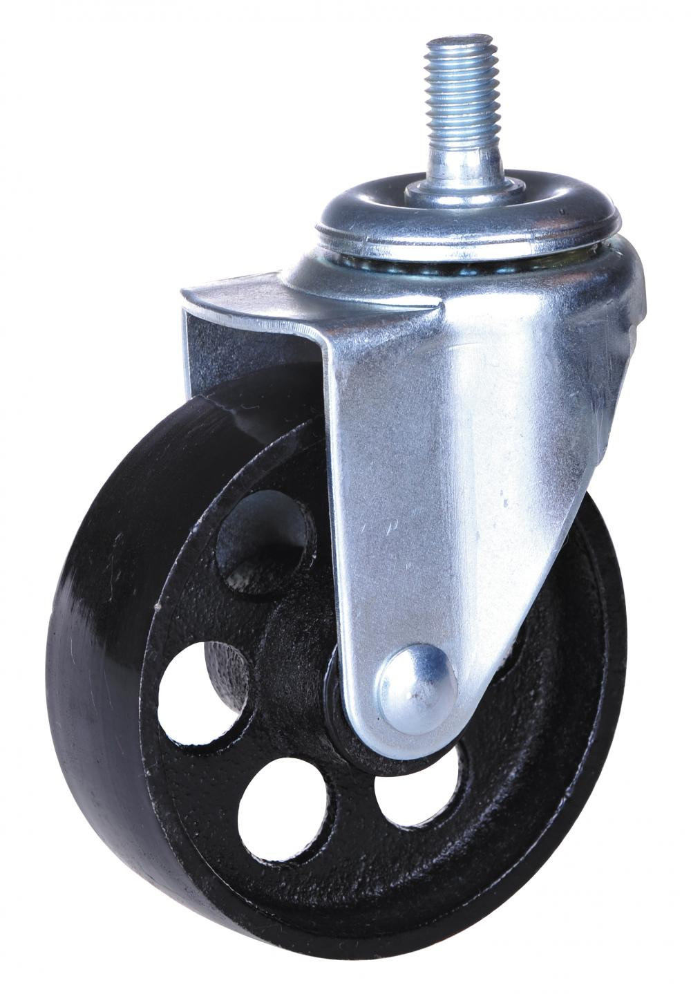 3incn swivel caster with iron wheel with brake