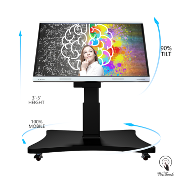 70 Inches 4K Touchscreen Panel With Automatic Stand
