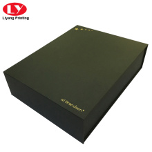 Black magnetic large shoes box