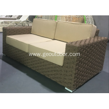 High end nice weaving soft loveseat sofa