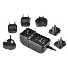 Interchangeable Plug ITE Wall Power Adapter 16V1A