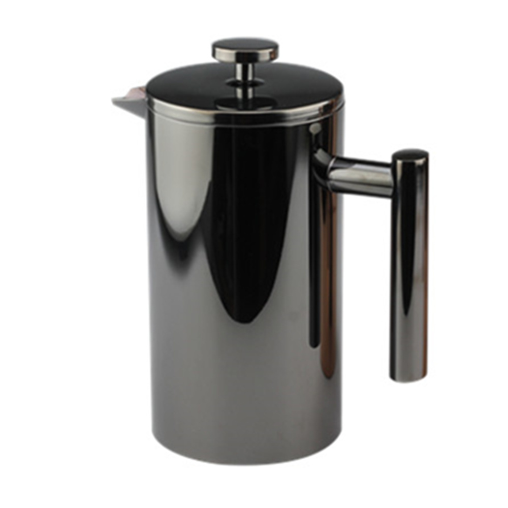 Best Painting Black Double Wall French Press