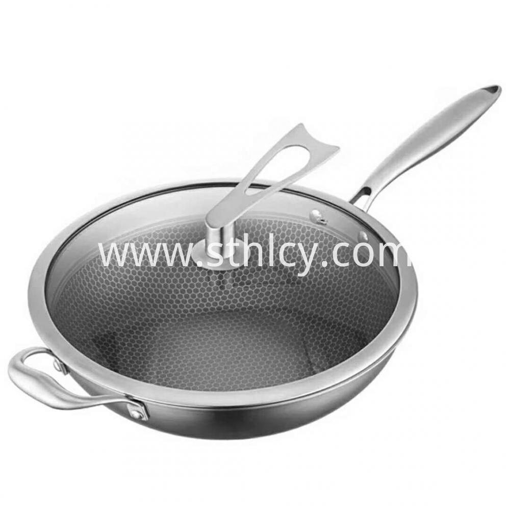 304 Stainless Steel Frying Pan