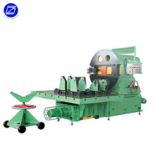 Rotating table type beveling machine
