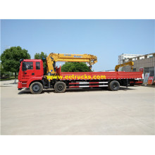 DFAC 6x2 12ton Truck with Cranes