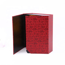 Custom Book Shaped Magntic Cardboard Tea Box