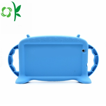 Cute Tablet Silicone Cover Handle Kid's Tablet Case