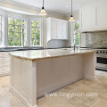 Top level shaker kitchen cabinet with island
