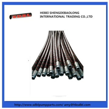 Chinese Concrete Pump Flexible Rubber Hose Pipeline
