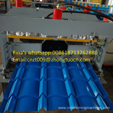 metal sheet roofing panel machine glazed roofing panel roll forming machine