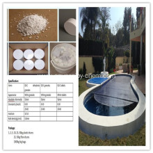 Special for Swimming Pool Specialized Disinfectant CAS NO.51580-86-0 Sodium Dichloroisocyanurate dihydrate export to Cambodia Manufacturers