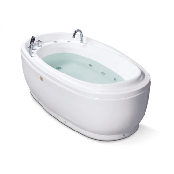 Oval Indoor Function Freestanding Bathtub