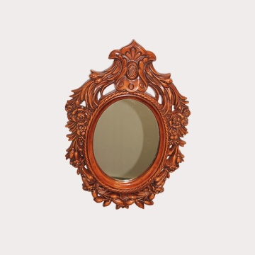 Carved Woodern Frame Vanity Mirror