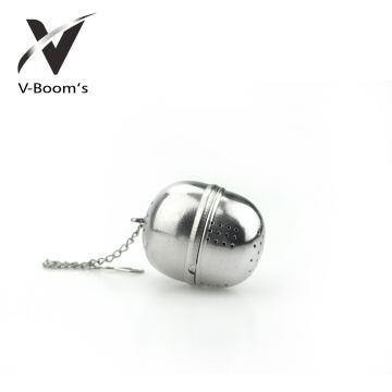 Best quality and factory for Stainless Steel Tea Infuser Stainless Steel Long Chain Tea Ball Infuser supply to French Polynesia Factories