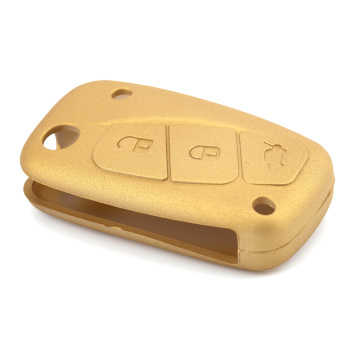 Silicone Car Key Case for Fiat 500