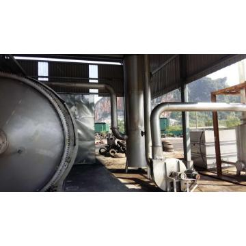 PP plastics pyrolysis equipment