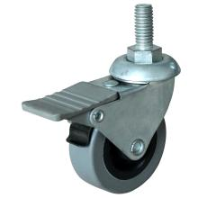 Factory directly provide for Threaded Stem Industrial Casters 4inch PP/TPE Swivel Caster export to Chad Supplier