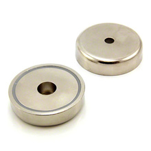 China for Strong Neodymium Pot Magnets Ndfeb Neodymium pot magnets with through hole export to Guinea Exporter