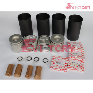 excavator 4HK1 engine gasket bearing piston ring liner