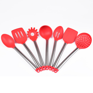 Cooking tools stainless steel silicone kitchen utensils