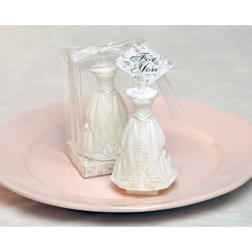Decoration Bride and Groom wedding favors candles