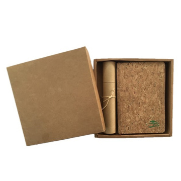 PU Natural Corkwood Leather for Bags Gift Box
